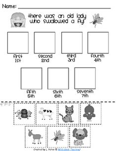 Little Red Hen Sequencing Freebie Put the pictures in