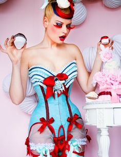 obsessed!!!!! so beautiful!!!! http://mayahansen.com/products/231/Corset/Cherry-Blue-corset.html