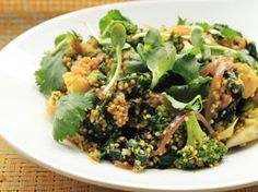 Vegan Quinoa, Broccoli, and Kale Curry | Serious Eats : Recipes