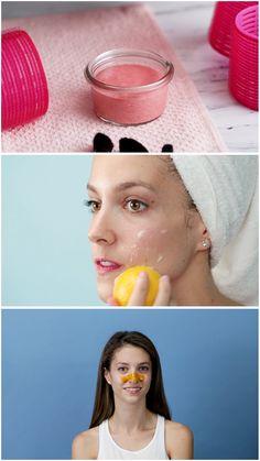 Homemade Skin Care, Diy Skin Care, Diy Makeup, Makeup Tips, Beauty Care, Diy Beauty, Clip Hairstyles, Face Treatment, Tips Belleza