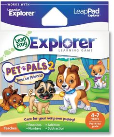 LeapFrog Explorer Learning Game: Pet Pals 2 (works with LeapPad & Leapster Explorer) « Game Searches