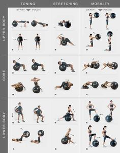 EL EJERCITARSE CUANDO MENOS 45 MINUTOS DIARIOS, ES SALUD Y BIENESTAR FISICO Y MENTAL  Great use of the stability #Workout #fitness #physical exertion #Work out