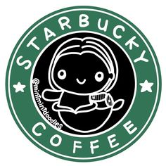 """Welcome to Starbucky, what can we get for you today?"" (How would you name your coffee shop if you were to open one? Mine would probably be AU ) . . . #starbucky #starbucks #buckybarnes #wintersoldier #coffee #mermay #mermaid #mintmintdoodles"