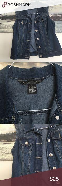 Denim jean vest Good condition Jackets & Coats Vests