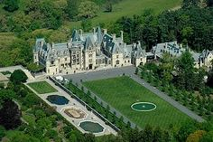 Biltmore Estate in Asheville, NC. My husband and I visited this a few months ago. AMAZING to say the least.