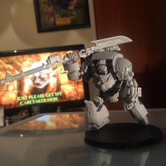 """112 Likes, 5 Comments - Sam Doran (@the_iron_tenth_of_istvaan) on Instagram: """"I built one! #30k #40k #warhammer #warhammer40k #warhammer30k #ironhands #primarch #admech…"""""""