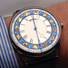 The awesome De Bethune DB25T Zodiac on the wrist. What a beautiful watch!