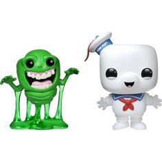 Funko - Ghostbusters Pop! Movies Vinyl Collectors Set: Slimer, Stay Puft Man - Multi, G847944000648