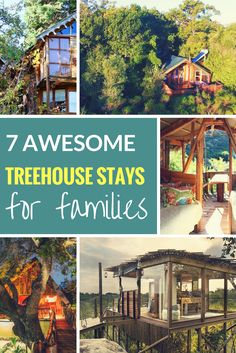 South Africa has its fair share of family-friendly treehouse stays and we've selected seven child-friendly ones for you to choose from. Child Friendly, Holidays With Kids, Family Holiday, Treehouse, Friends Family, Are You The One, South Africa, Cabin, House Styles