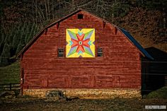 barn quilt- i love these!