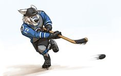 Tundratown Hockey Player (Zootopia) by Temiree on DeviantArt