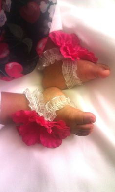 Baby Blooms Baby Footwear by JordansGallery on Etsy, $10.00
