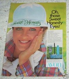 Avon's Sweet Honesty makeup