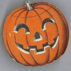 Jack O' Lantern cardboard candy container, USA from gaspee . Halloween History, Halloween Horror, Halloween House, Holidays Halloween, Halloween Crafts, Happy Halloween, Halloween Decorations, Halloween Stuff, Halloween Ideas