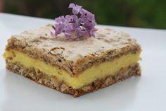 Romanian Desserts, Romanian Food, Romanian Recipes, Cake Recipes, Dessert Recipes, Good Food, Yummy Food, Walnut Cake, Sweet Cakes