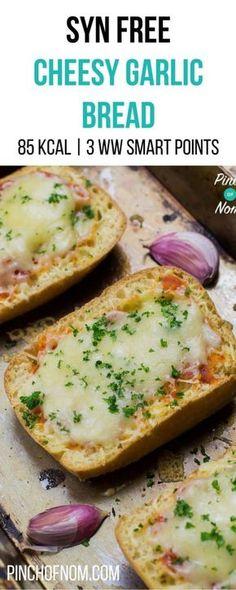 Syn Free Garlic Bread | Slimming World | Weight Watchers | Gluten Free