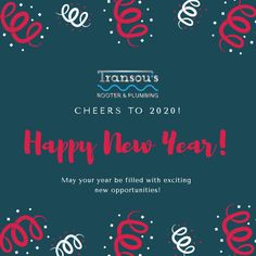 Welcome How will you make this year one for the books? Rooter Plumbing, Exciting News, New Opportunities, Happy New Year, Books, How To Make, Libros, Happy New Years Eve, Book