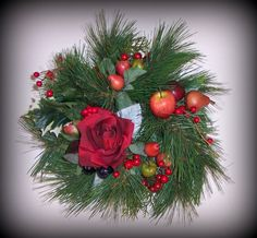 Wreath - Christmas or Valentines Day??