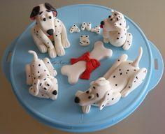 Fondant dogs