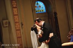 Real Wedding: Sloane and Michael | Rosa Clara @ Henry Ford Museum, Dearborn, Michigan (MI) from Le Salon Bridal Boutique | Michigan, Chicago, Indiana