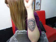 Aslan dövmesi MERSİN Dragonfly Tattoo Piercing Studio WhatsAp: 0530 942 12 43