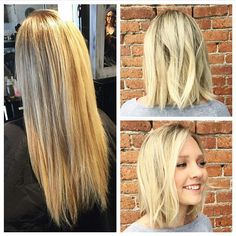 Before + after by Joan Dayton > Theory Hair Salon > Montana