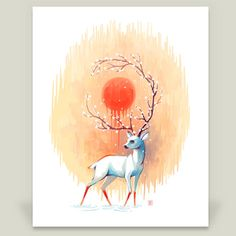 Spring Spirit by Freeminds on BoomBoom Prints