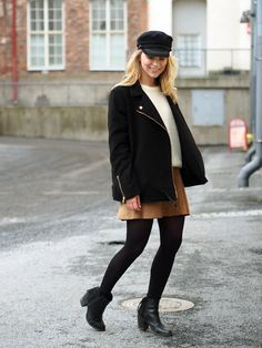 LACK OF COLOUR/ Suede skirt / Outfit