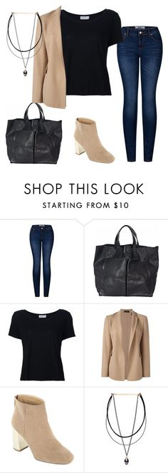 """""""m-1"""" by gaylien ❤ liked on Polyvore featuring 2LUV, Anya Hindmarch, Frame Denim and Theory"""