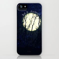Touch the Moon iPhone Case by RDelean - $35.00