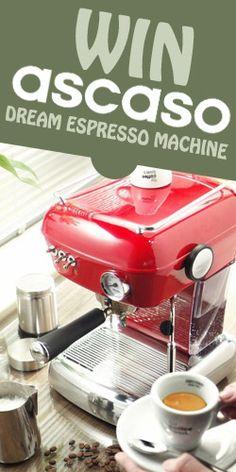 Win an Ascaso Dream Espresso Machine