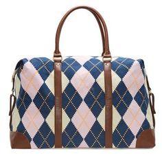 08d868c85c52 Campbell Argyle Overnight Bag – Lulu Dharma Duffel Bag