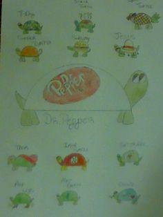 Uberhaxornova turtles fan art! :D