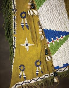 Southern Cheyenne Beaded Leggings - High Noon Western Americana