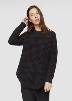 Louise Knitted Jumper Black