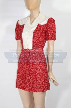 Allie's vintage playsuit from The Notebook. YES! Gimme, gimme, gimme - need this for summer!