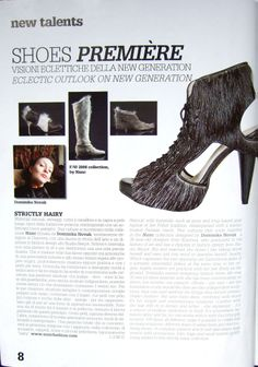 NUNC shoes at VOGUE