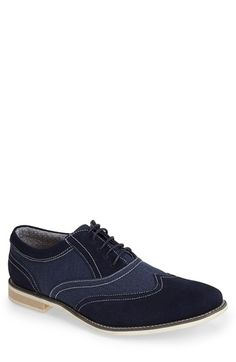 Steve Madden 'Samson 2' Spectator Shoe (Men) available at #Nordstrom