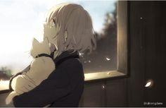 Manga Girl, Anime Art Girl, View Wallpaper, Cartoon Wallpaper, Anime Oc, Anime Demon, Dandere Anime, Neko, Character Art