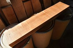 Beautiful Heavy Fiddle Maple Board/ Luthier Supply