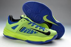 Mens Nike Hyperdunk Low Poison Green Hyper Blue Black New 554671-302 2013
