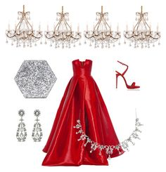 """""""Red Belle"""" by fru316 on Polyvore featuring Alex Perry, Giuseppe Zanotti and Edie Parker"""