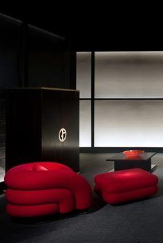 Armani Casa Arch Interior, Luxury Interior, Interior Architecture, Interior Design, Armani Interiors, Armani Hotel Dubai, Mid-century Modern, Contemporary, Bonus Rooms