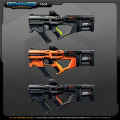 Sci Fi Weapons, Weapon Concept Art, Fantasy Weapons, Weapons Guns, Sci Fi Fantasy, Armas Ninja, Gun Art, Arsenal, Cool Guns