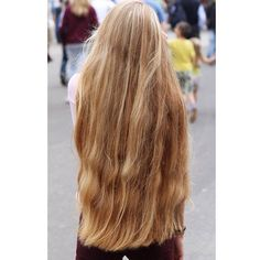Ich will ganz lange haare