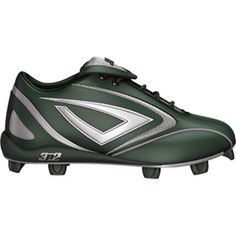 SALE - Mens 3N2 HAMR Baseball Cleats Green - BUY Now ONLY $41.45 Baseball Cleats, Softball, Blue And Silver, Navy Blue, Green Leather, Bicycle Helmet, Shoes Online, Athletic Shoes, Hats