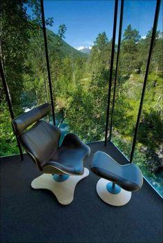 Отель Juvet Landscape в Норвегии