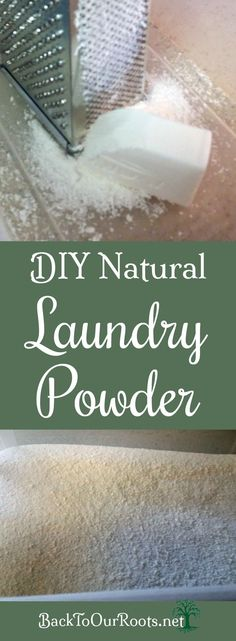 DIY Frugal, Natural Laundry Powder