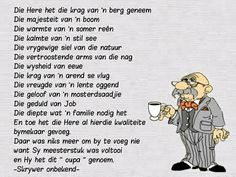 Fathers Day Poems, Happy Birthday Wishes Quotes, Happy Birthday Husband, Afrikaanse Quotes, Kids Poems, Father's Day, Prayer For You, Elderly Man, Wish Quotes