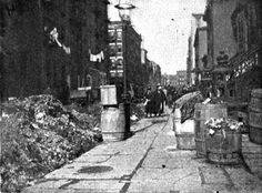city slums 1860s | city has a reputation in some quarters deserved or not as a dirty city ...